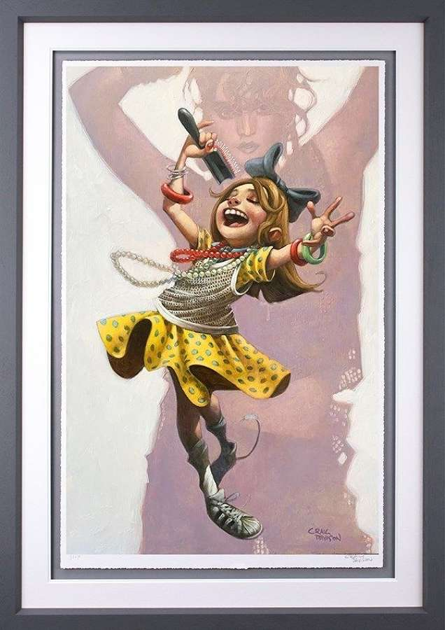 Get Into The Groove - Framed Art Print by Craig Davison