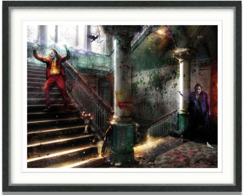 Smile (The Joker) - Framed Art Print by Mark Davies