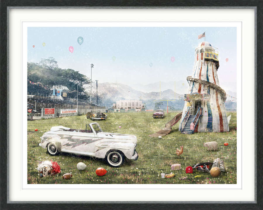 Summer Lovin' (Grease) - Framed Art Print by Mark Davies