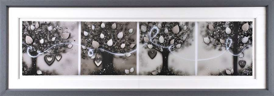 Connected - Framed Art Print by Kealey Farmer