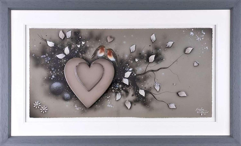 Reunited - Framed Art Print by Kealey Farmer