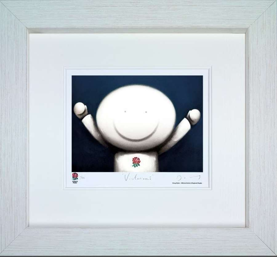 Victorious Framed - Framed Art Print by Doug Hyde