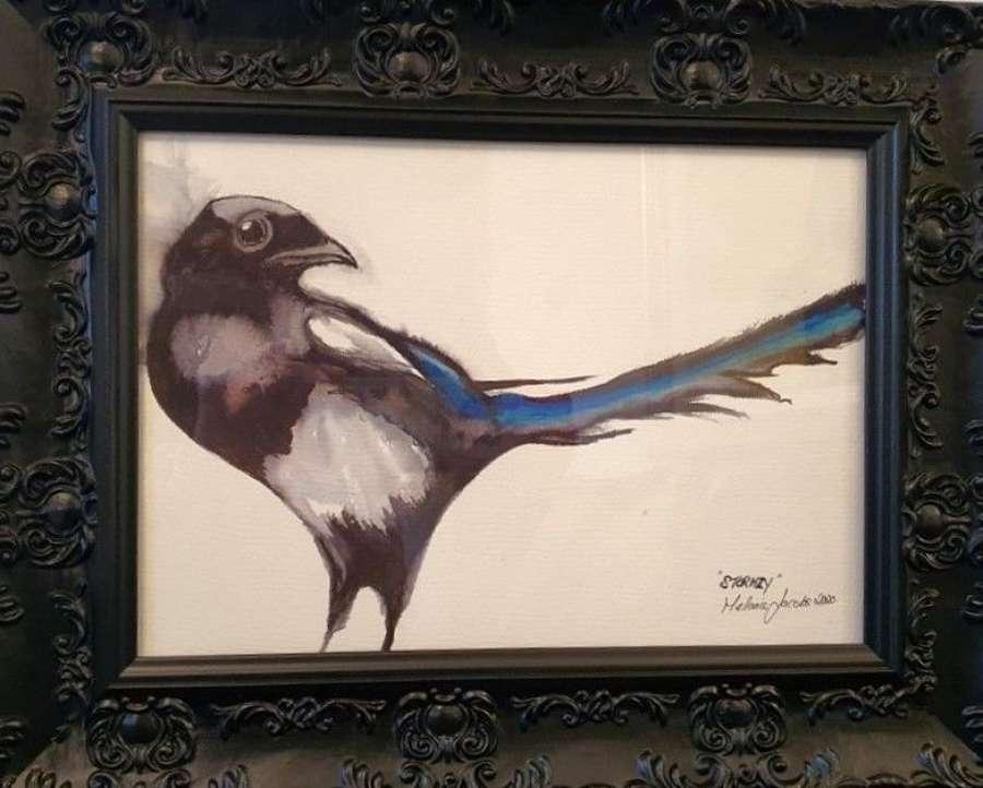 Stormzy - Original Watercolour By Melanie Jacobs