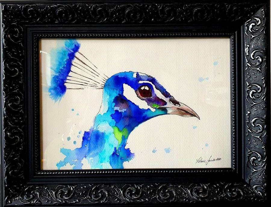 'Liberace' - Original Watercolour By Melanie Jacobs