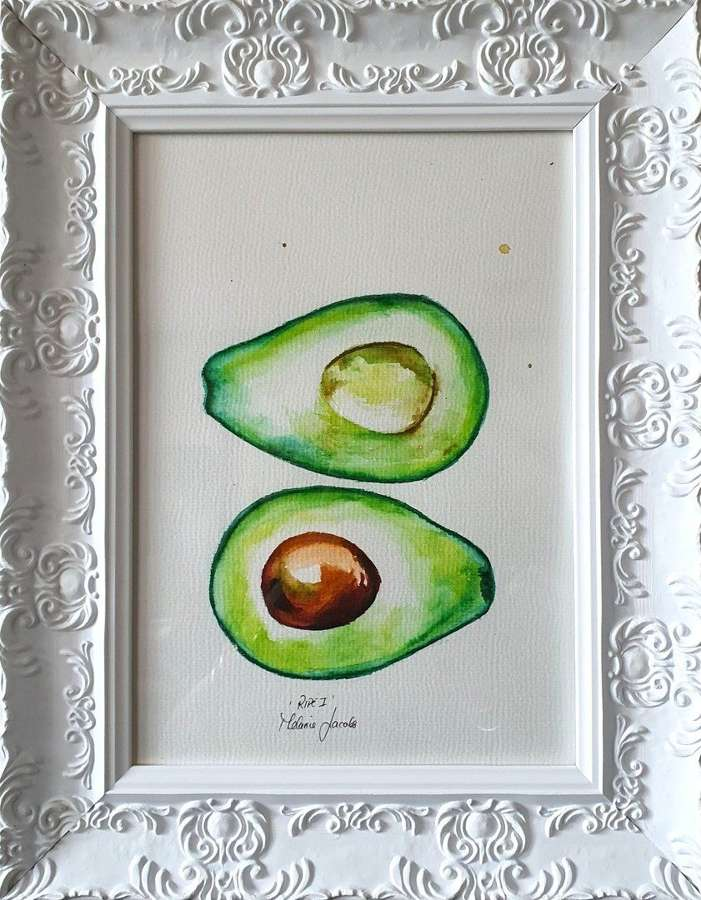 'Ripe I' - Original Watercolour By Melanie Jacobs