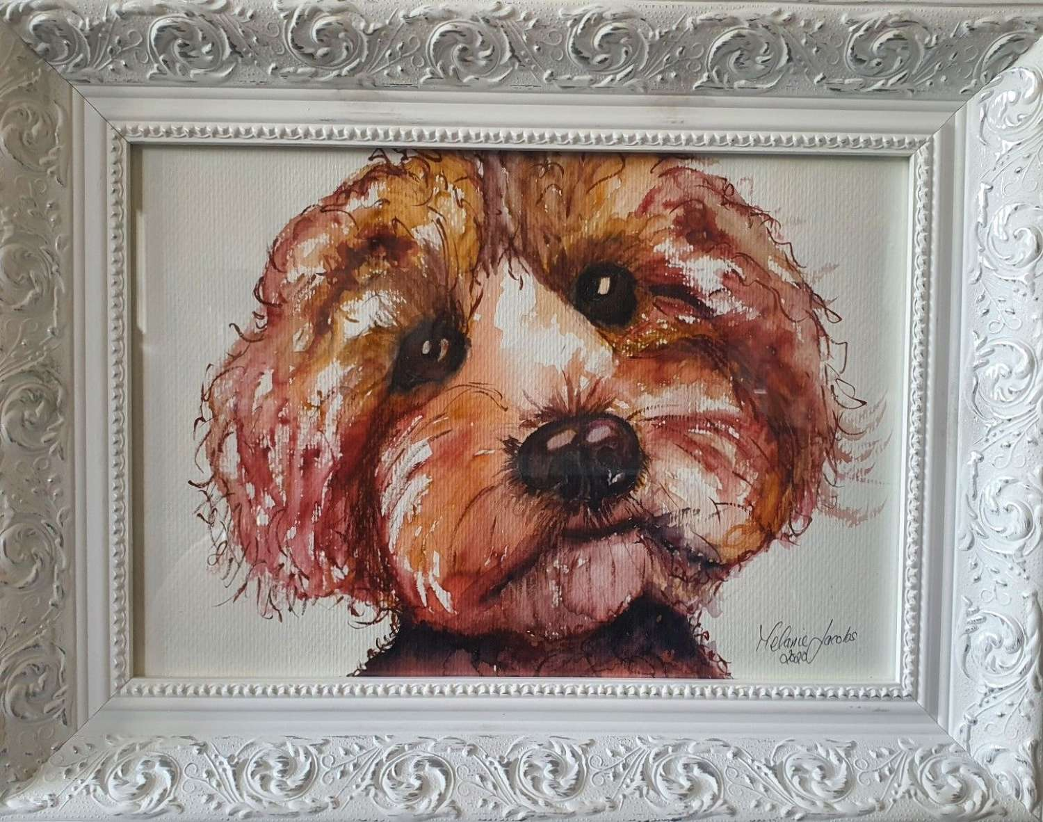'Doodle' - Original Watercolour By Melanie Jacobs