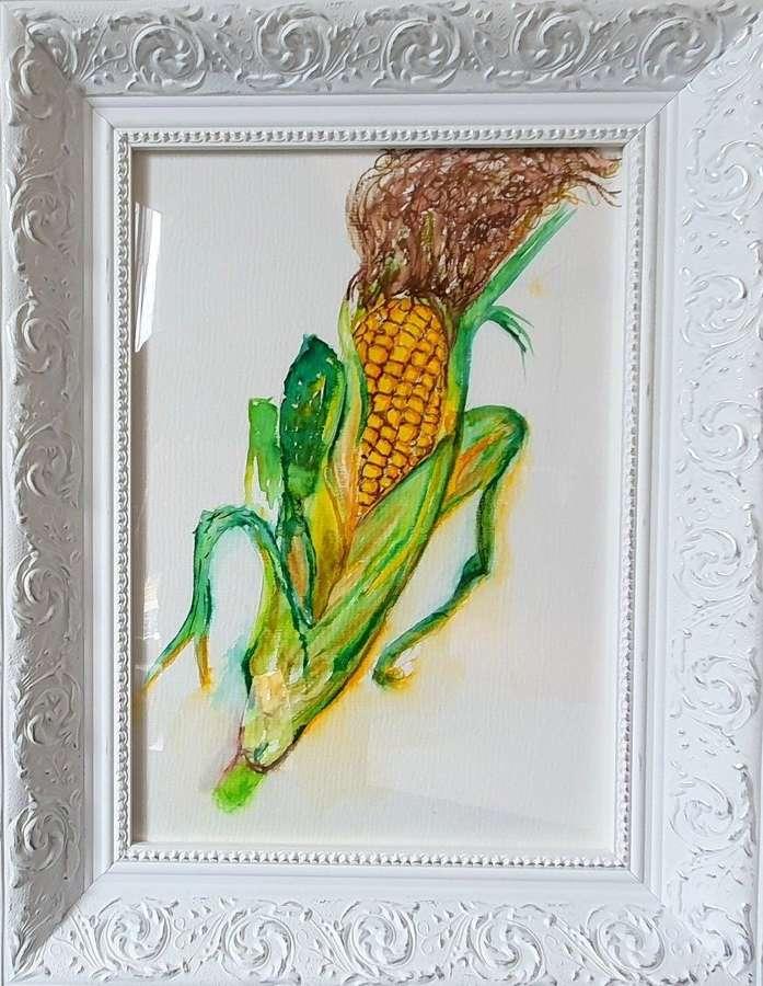 'Corn Star' - Original Watercolour By Melanie Jacobs