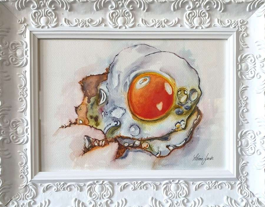 Free Range! - Original Watercolour By Melanie Jacob