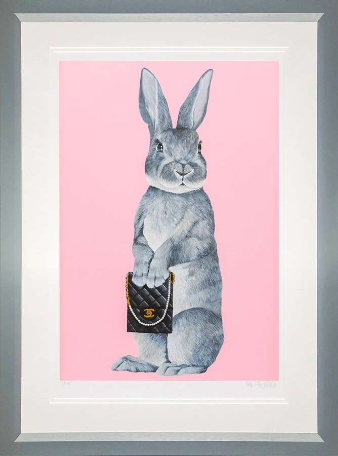 Bunny Girl - Chanel - Framed Art Print By Dean Martin