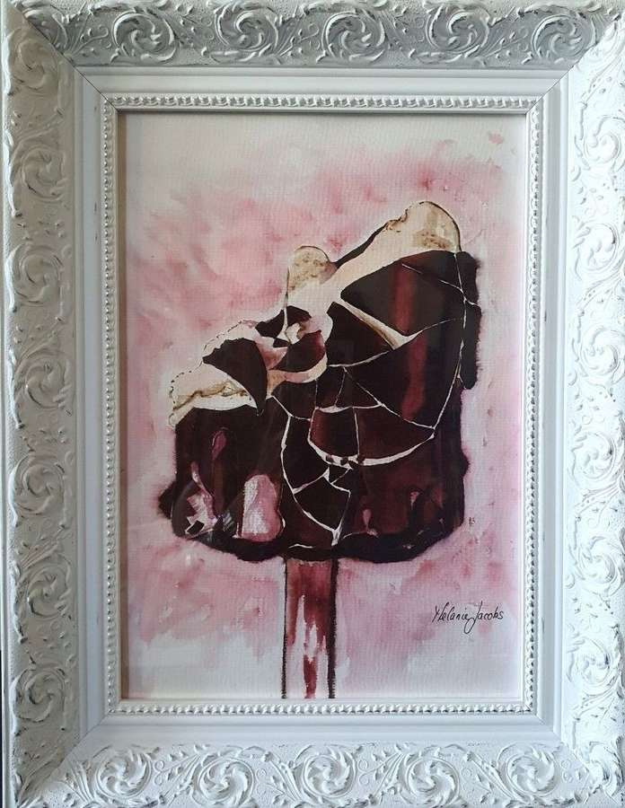'Chocolate Magnum' - Original Watercolour By Melanie Jacobs
