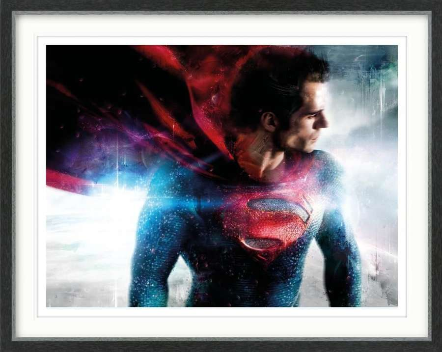 There is a Superhero in all of us Framed Art Print By Mark Davies