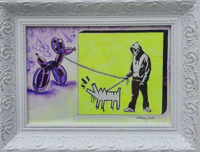 Outside The Box - Original Watercolour By Melanie Jacobs