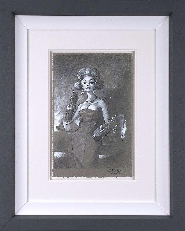 Flaming Beauty II - Framed Art Print By Craig Davison