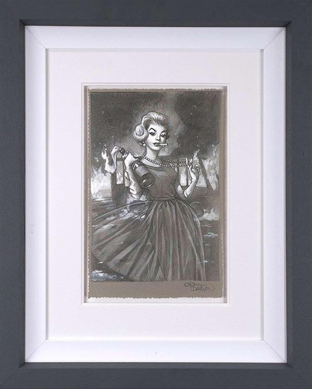 Flaming Beauty I - Framed Art Print By Craig Davison