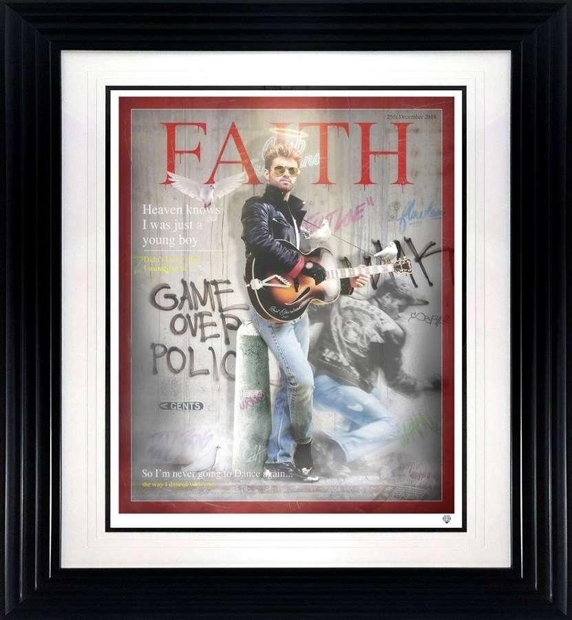 Faith Time Magazine - Framed Art Print By JJ Adams