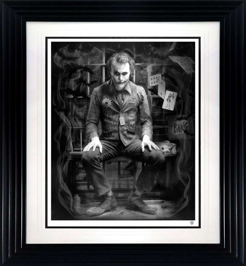 I'm Not a Monster - Black and White - Framed Art Print By JJ Adams