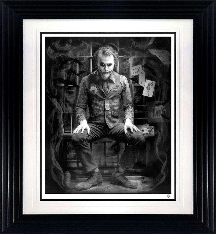 I'm Not a Monster - Black and White - Framed Art Print By JJ Adams