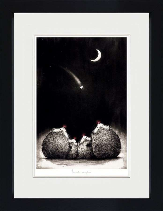 Family Night - Framed Art Print By Doug Hyde