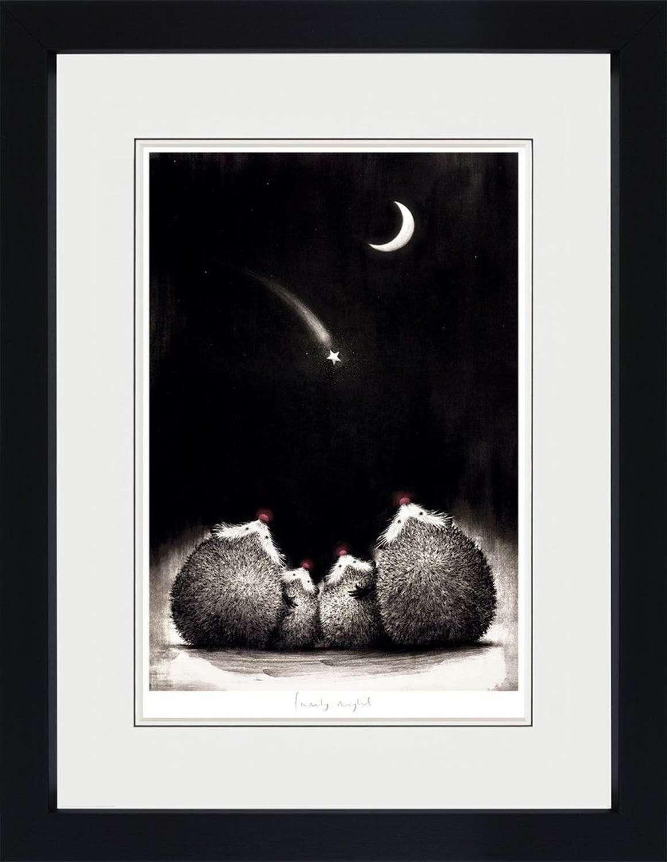 Family Night - Framed Art Print By Doug Hyde