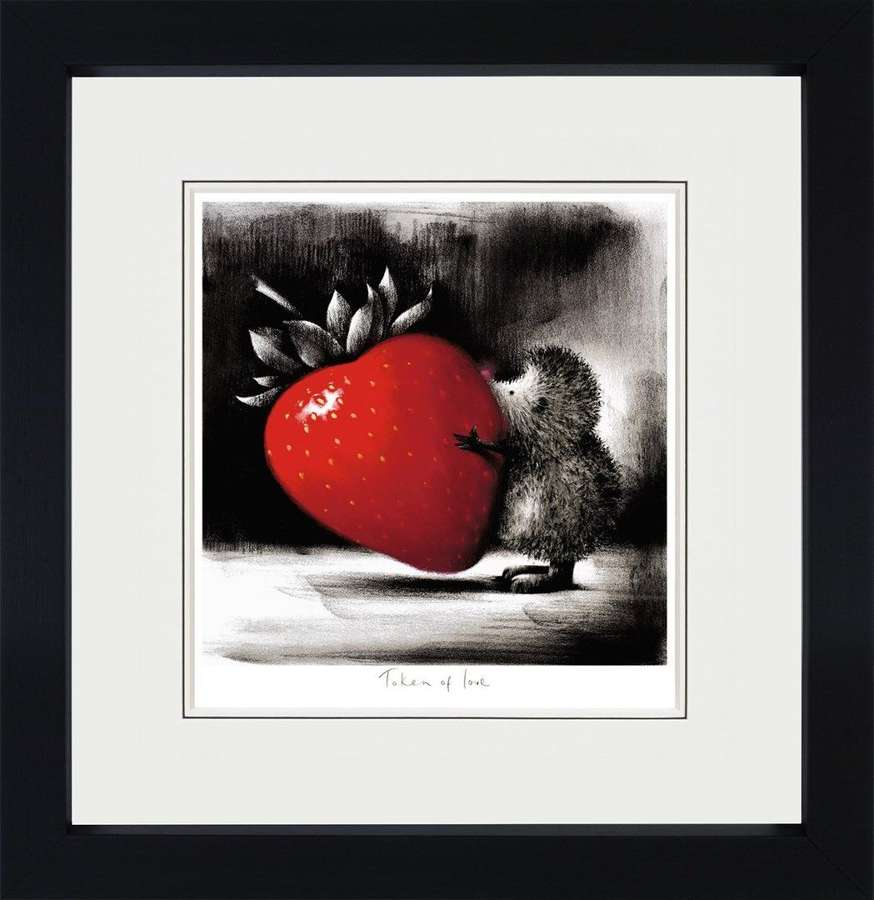 Token of Love - Framed Art Print By Doug Hyde