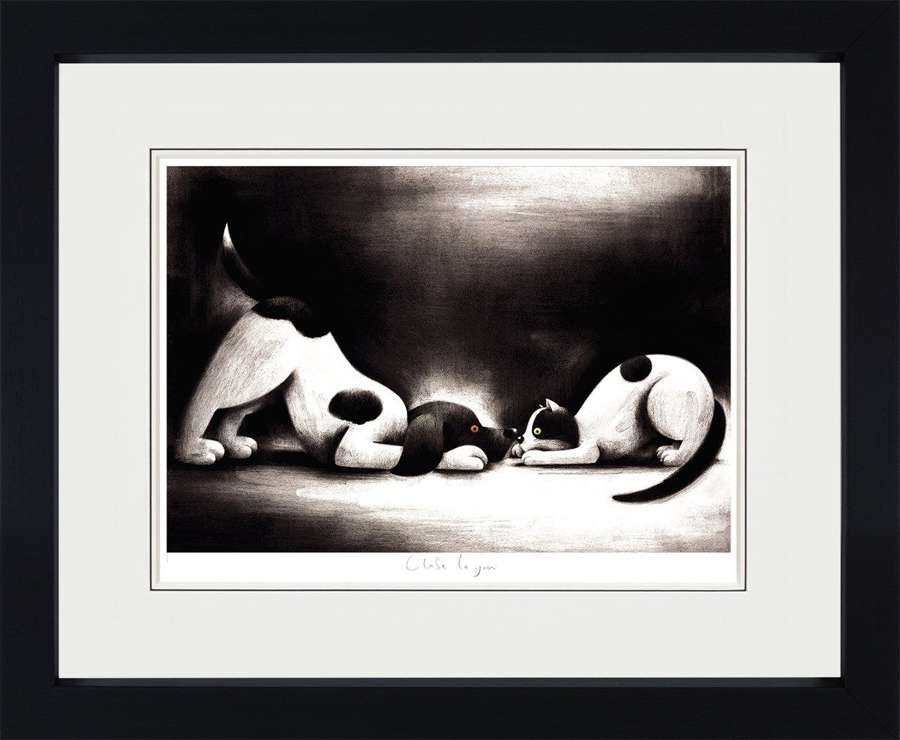 Close to You - Framed Art Print By Doug Hyde
