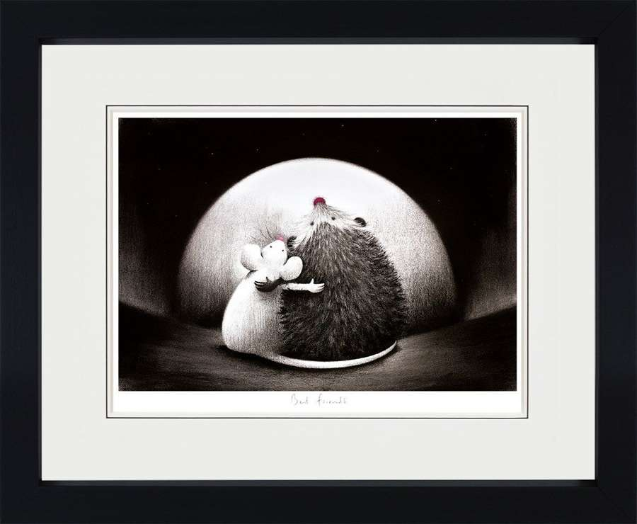 Best Friends - Framed Art Print By Doug Hyde