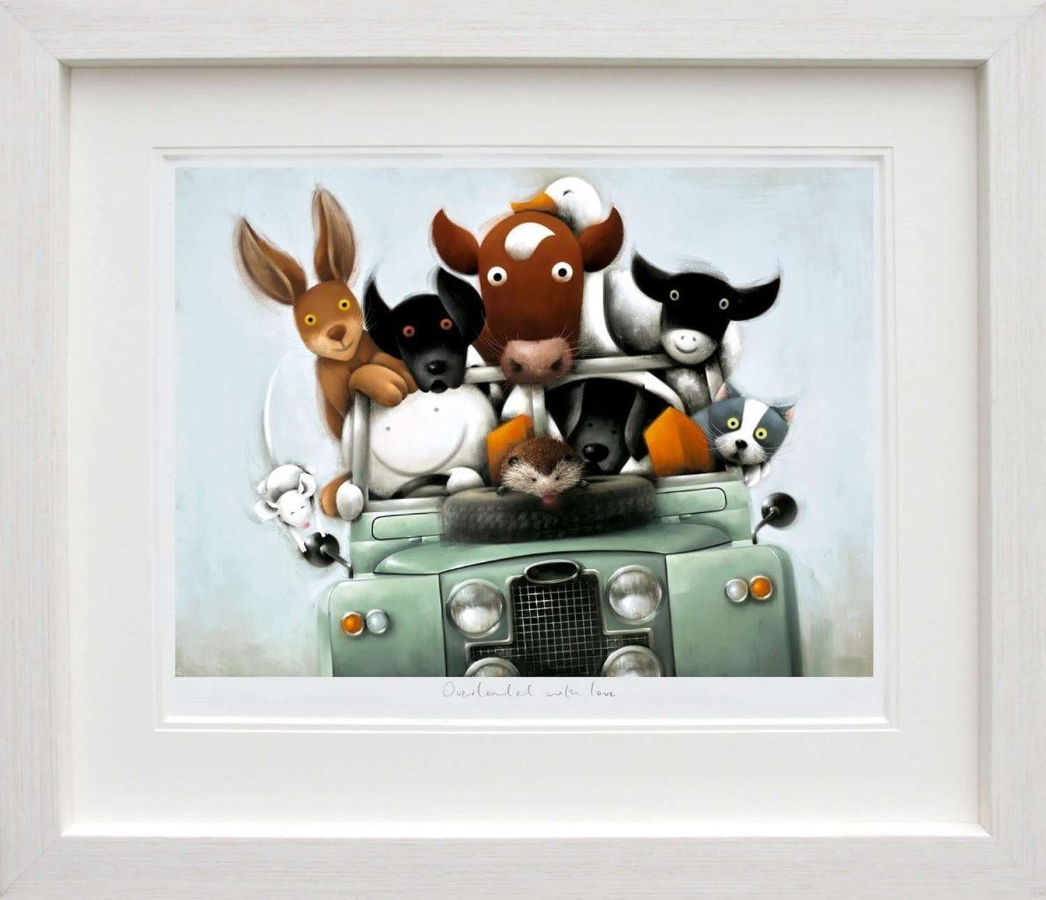 Overloaded with Love - Framed Art Print By Doug Hyde