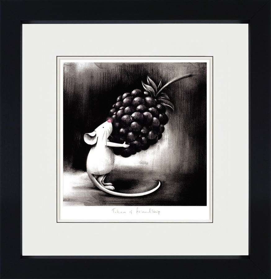Token of Friendship - Framed Art Print By Doug Hyde