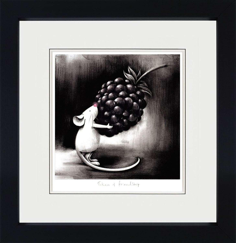 Token of Friendship - Framed Art Print By Doug Hyde