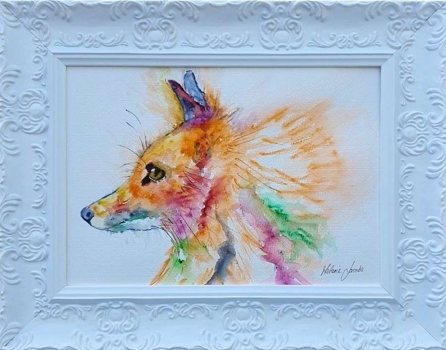 'Romeo The Fox' - Original Watercolour By Melanie Jacobs