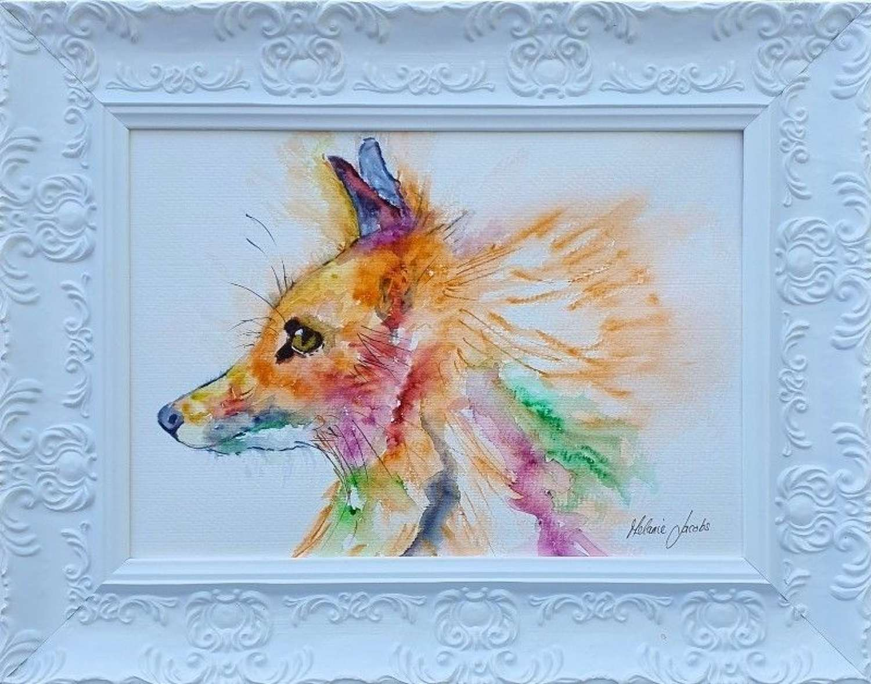 'Romeo The Fox' - Original Watercolour By Melanie Jacobs