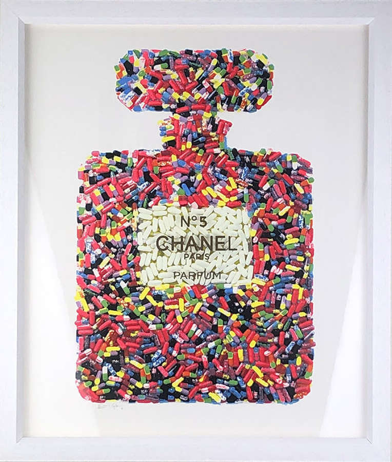 Addiction No.5 - Framed Art Print By Emma Gibbons