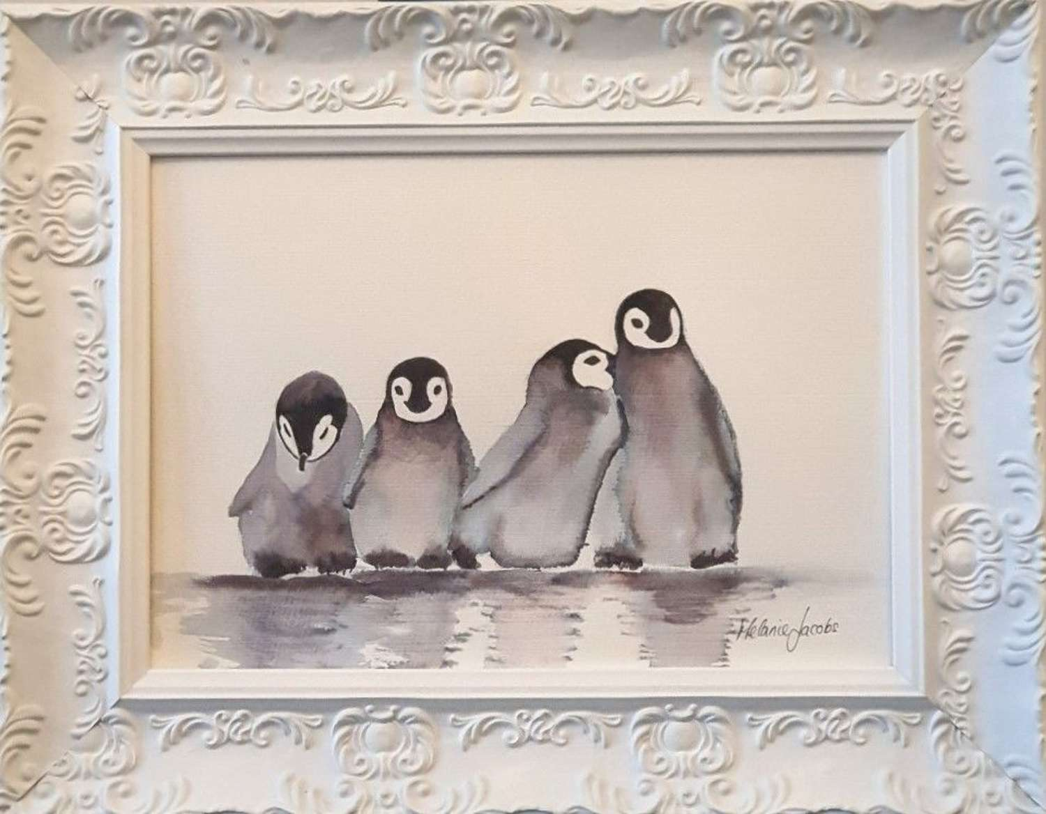 'Best Friends Forever'- Original Watercolour By Melanie Jacobs