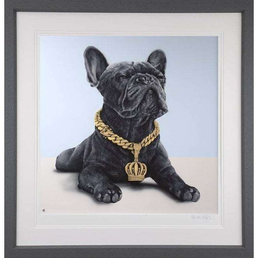 Escobark's Return - Framed Art Print By Dean Martin