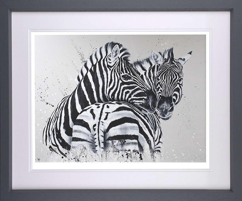 Lean On Me - Framed Art Print By Dean Martin