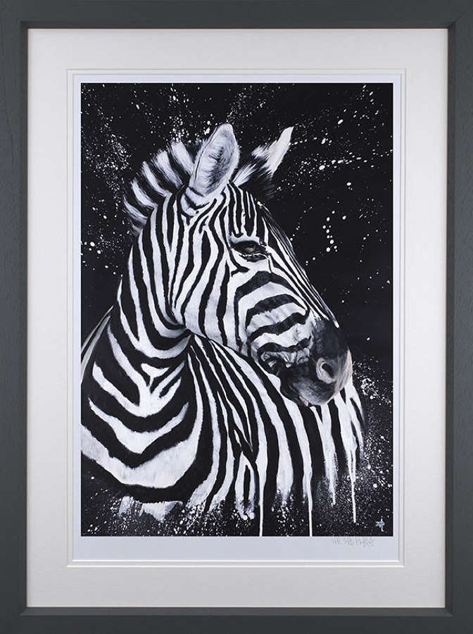 Stripes - Framed Art Print By Dean Martin