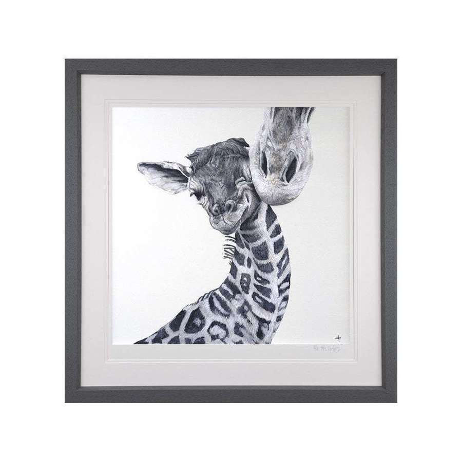 Love From Above - Framed Art Print By Dean Martin
