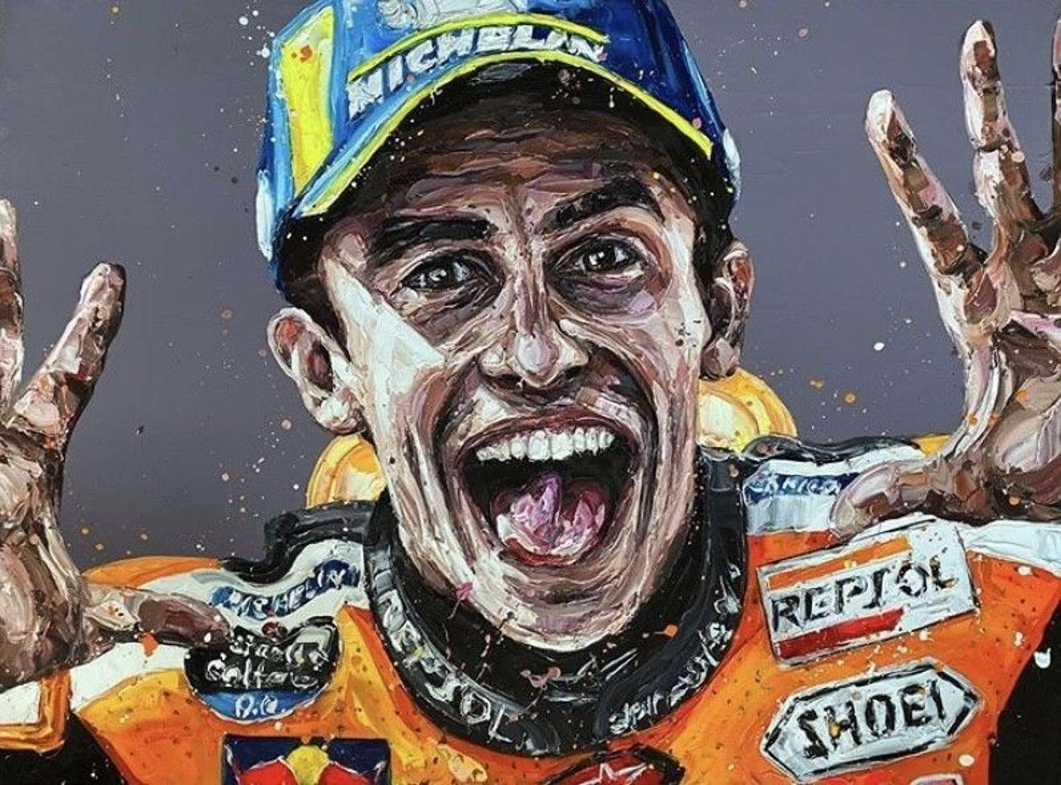 Marquez - Framed Paper Art Print By Paul Oz