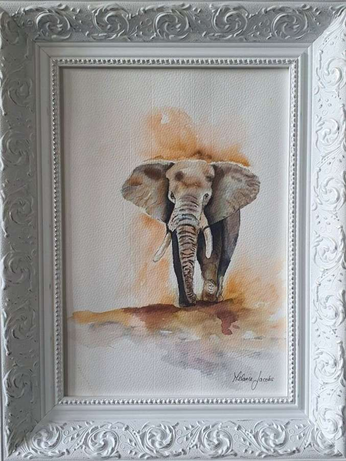 The Matriarch - Original Watercolour By Melanie Jacobs