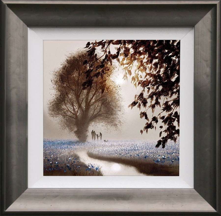 A World Of Dreams - Framed Art Print By John Waterhouse