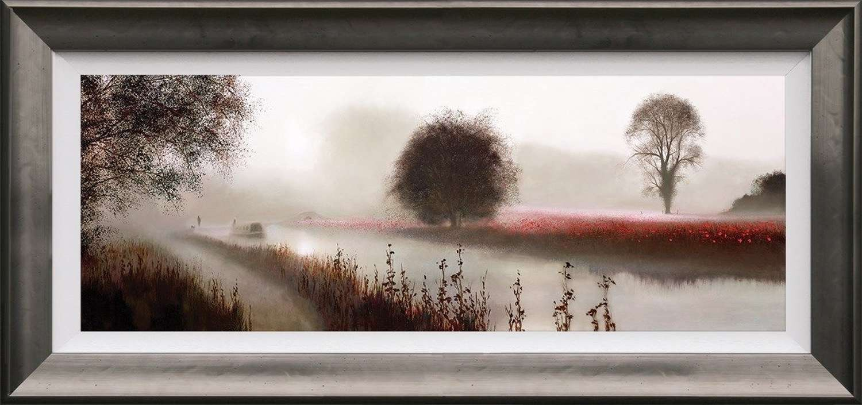 A Time To Take It Easy - Framed Art Print By John Waterhouse