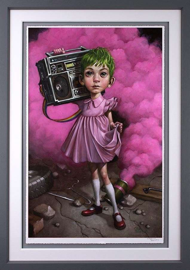 Make Your Own Kind of Music - Framed Art Print by Craig Davison