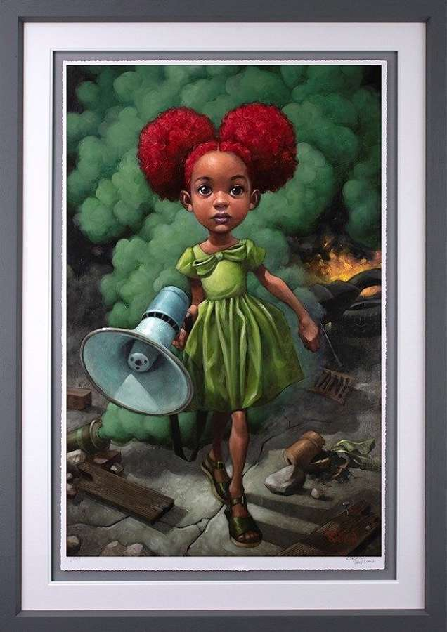 Won't You Help to Sing? - Framed Art Print by Craig Davison