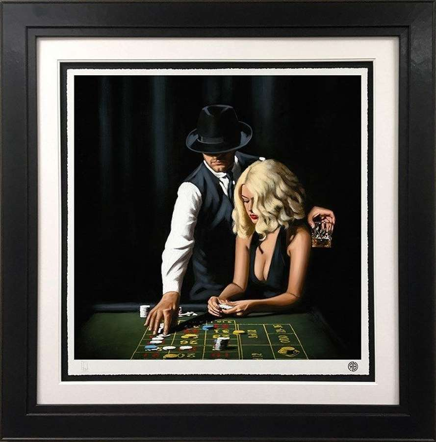High Rollers - Framed Art Print By Richard Blunt