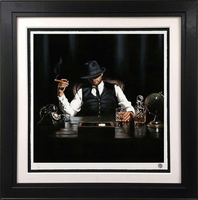 The Boss - Framed Art Print By Richard Blunt