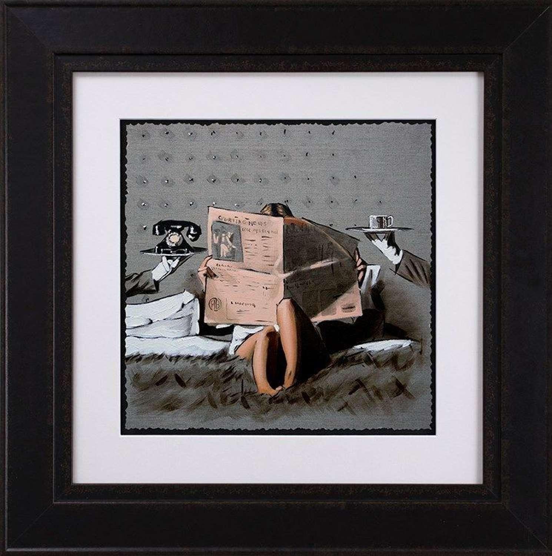 Run the World - Sketch - Framed Art Print By Richard Blunt