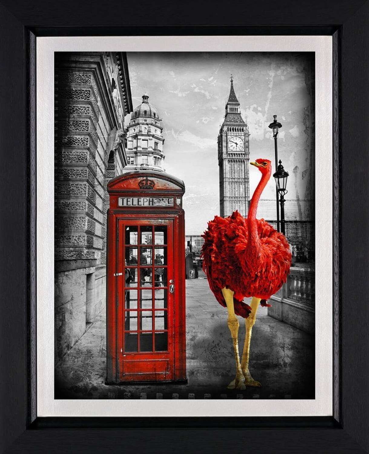 Looking for a Friend - Framed Art Print by Lars Tunebo