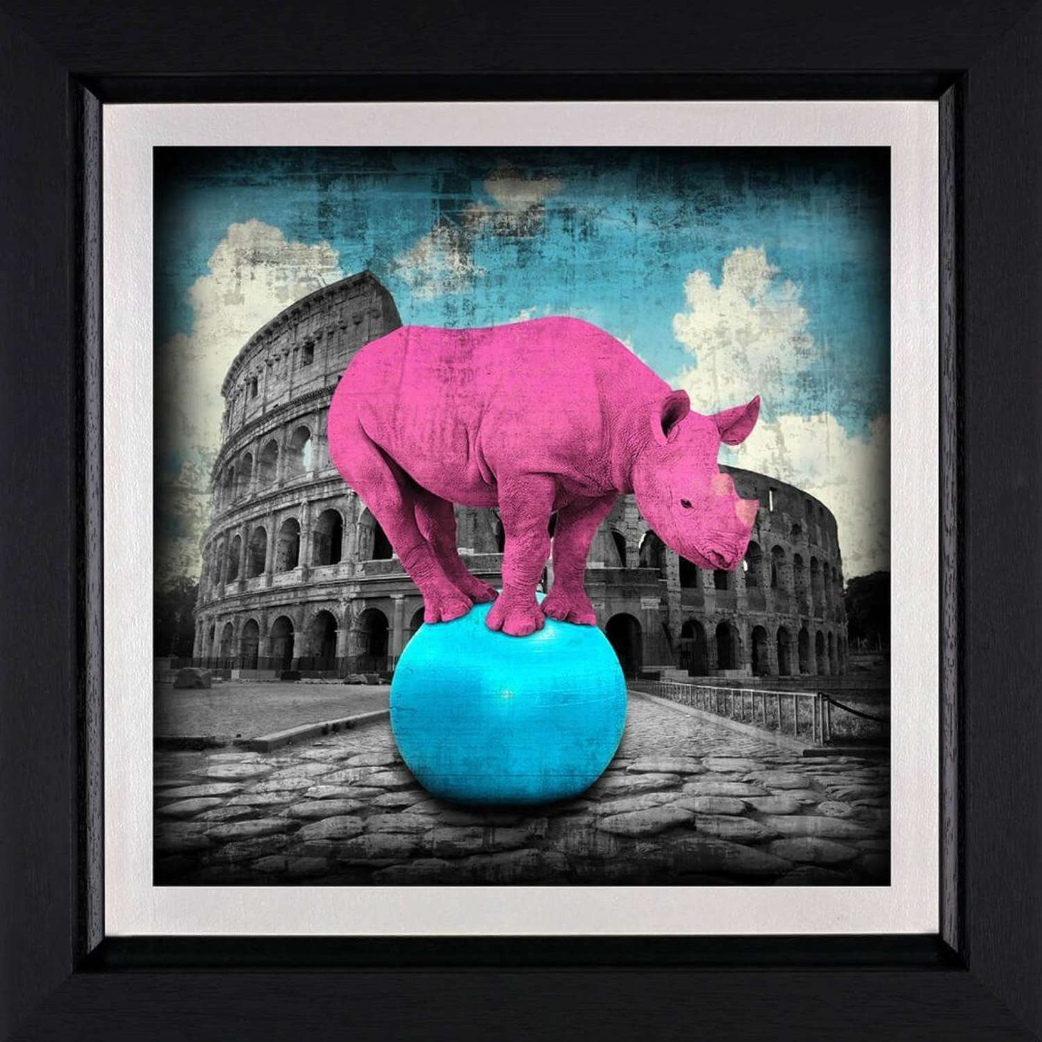 The Main Attraction - Framed Art Print by Lars Tunebo