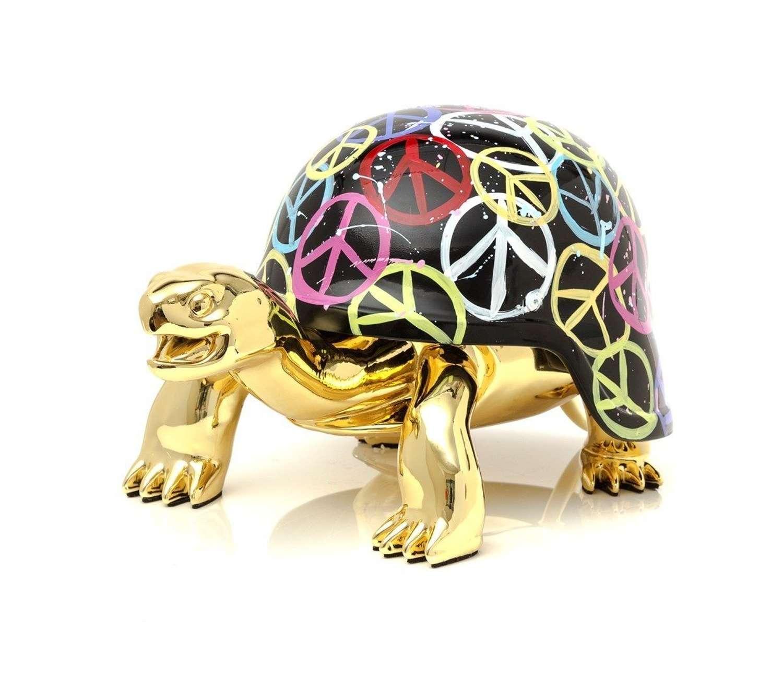 World Peace Sculpture by Diederik Van Apple