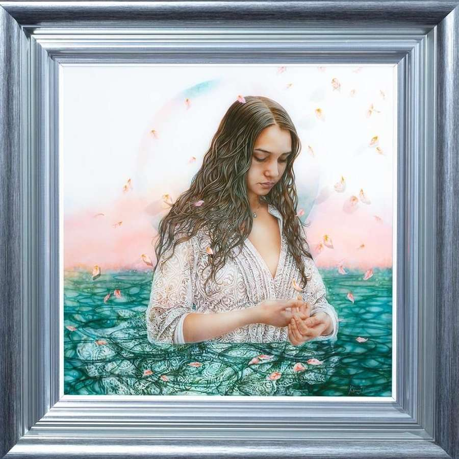Internal Reflection - Framed Art Print By Kerry Darlington